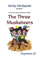 2008 Three Musketeers Programme cover