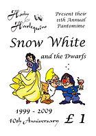 2009 Snow White Programme cover
