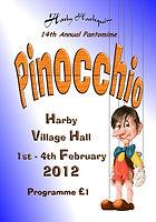2012 Pinocchio Programme cover