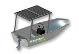 Elbåten Freepower MVP skisse