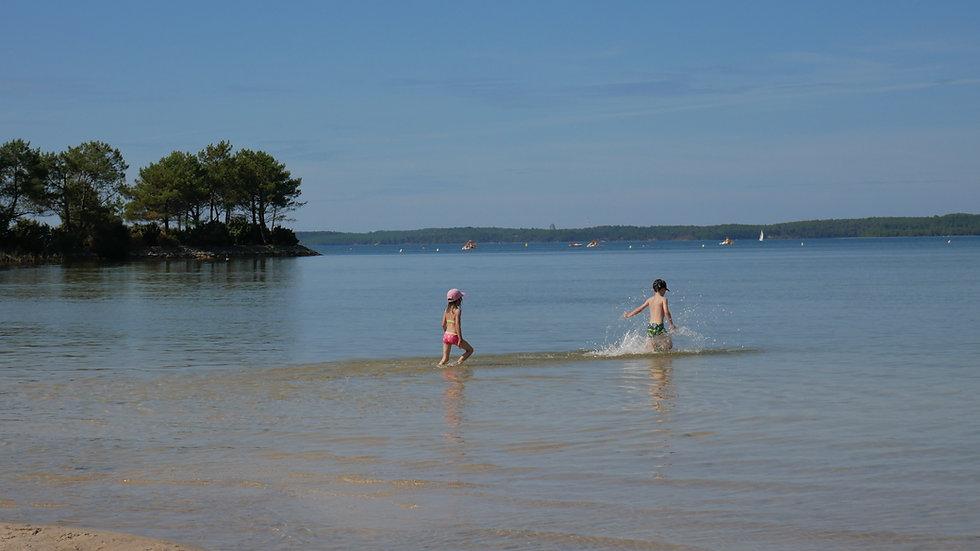 lac d'Hourtin Hôtel les pins Médoc Atlantique