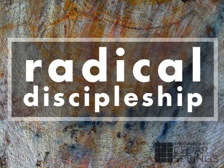 """Radical Discipleship: Transcending the """"Self"""""""