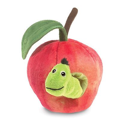 Worm in Apple Puppet by Folkmanis
