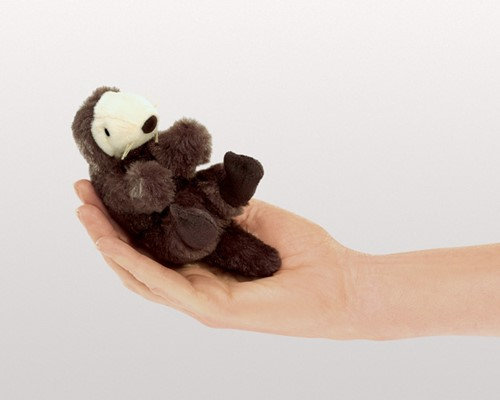 Sea Otter Finger Puppet by Folkmanis