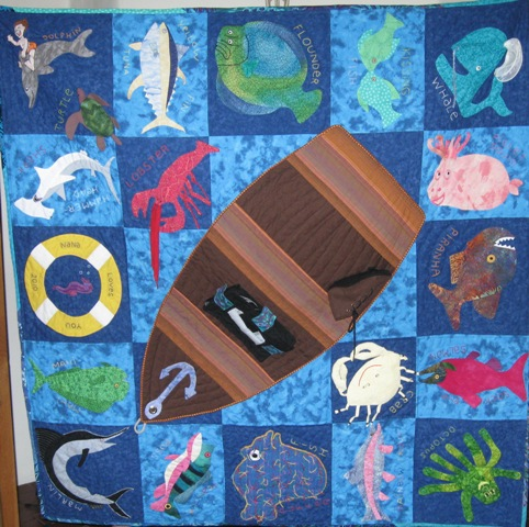 Isaac's Fish Quilt