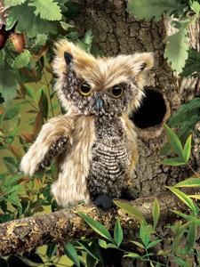 Screech Owl Puppet by Folkmanis