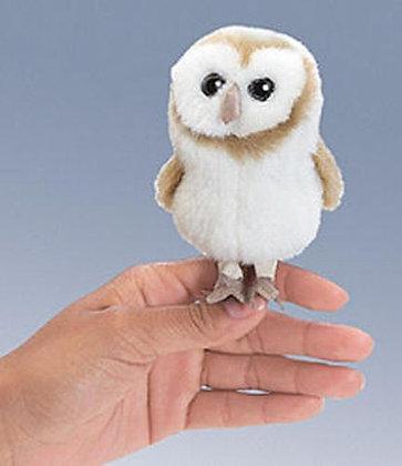 Barn Owl Finger Puppet by Folkmanis
