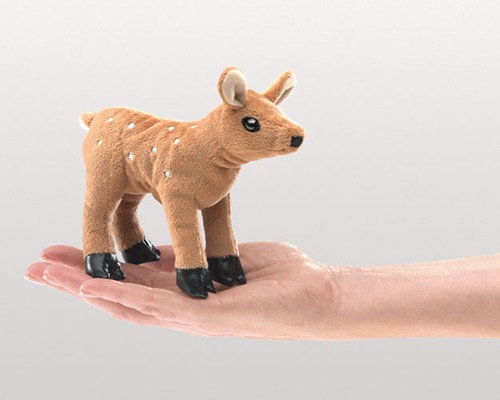Fawn Finger Puppet by Folkmanis