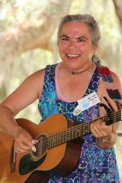 Mrs. Kate at the FL Folk Festival