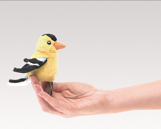 Goldfinch Finger Puppet by Folkmanis