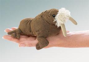 Walrus Finger Puppet by Folkmanis