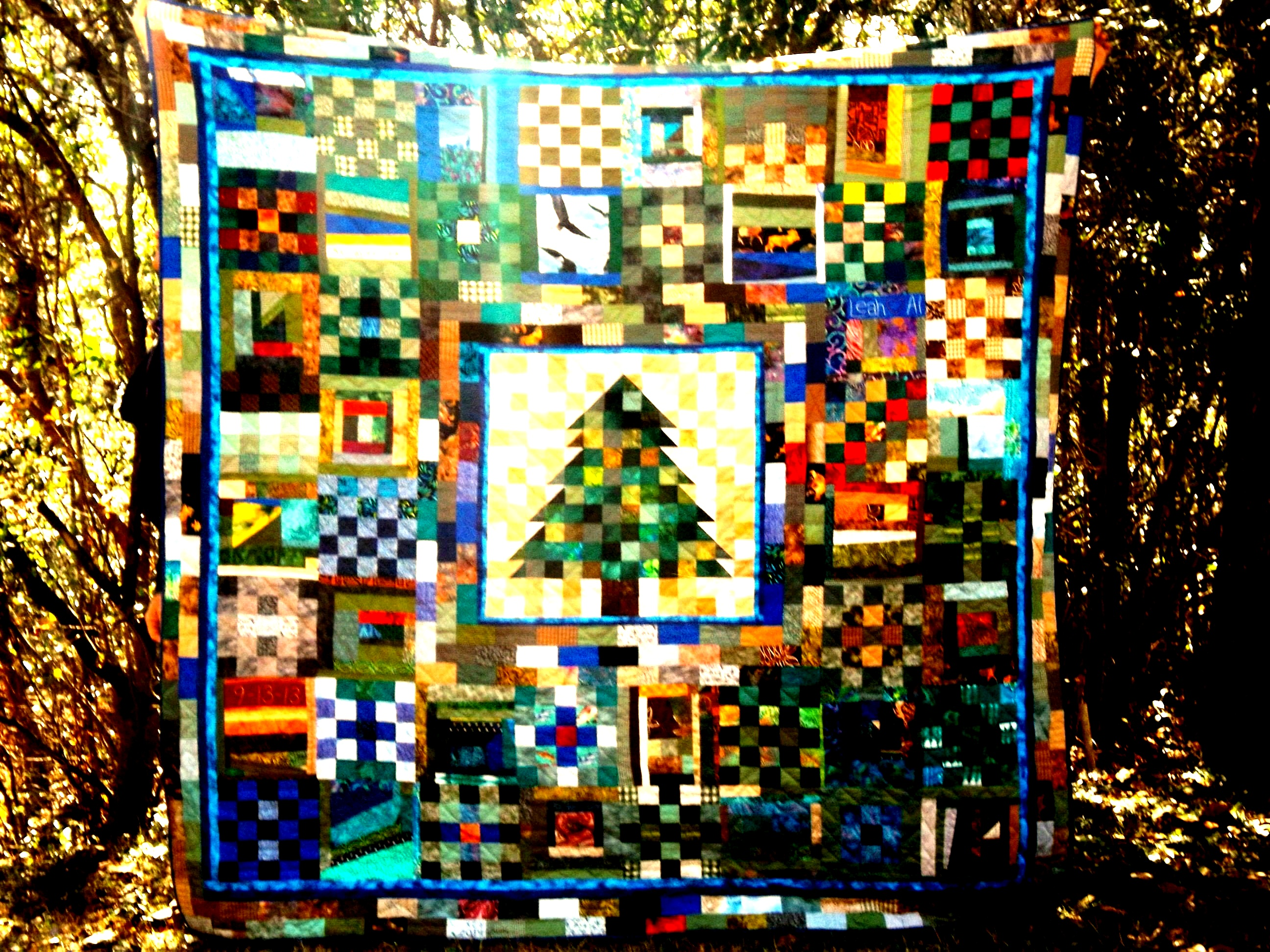 Al & Leah's Wedding Quilt