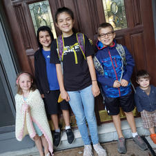 First day of School in Indiana!