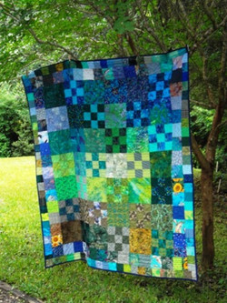 Michele and Adrian Villegas' quilt
