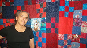 The Raffle Quilt Mrs. Kate created to raise funds for her daughter and family moving to Uruguay as international Christian Workers. Keith & Teri Newburn