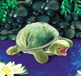 Baby Turtle Hand Puppet by Folkmanis