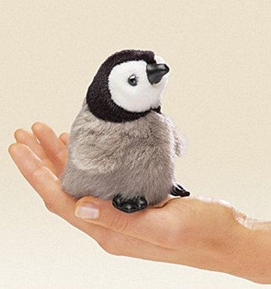 Baby Emperor Penguin Finger Puppet by Folkmanis
