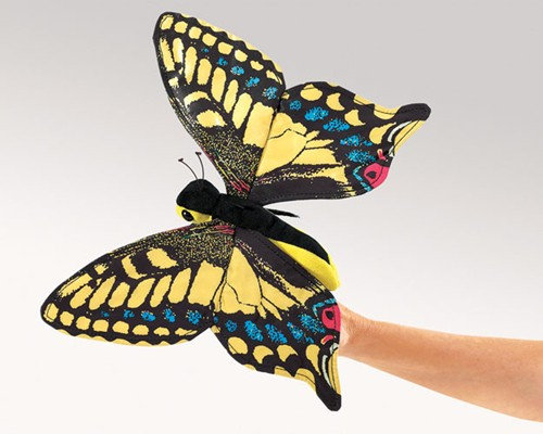Swallowtail Butterfly Puppet by Folkmanis