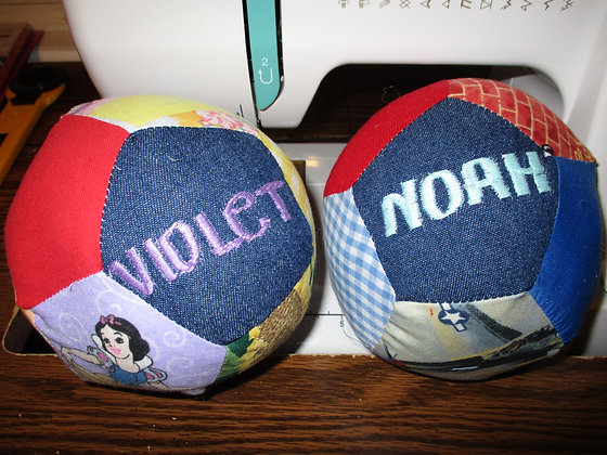 Personalized Baby Ball