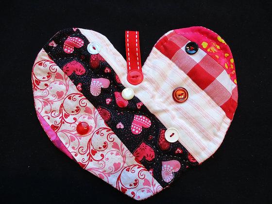 Valentine Heart Quilt 2