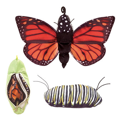 Monarch Life Cycle by Folkmanis