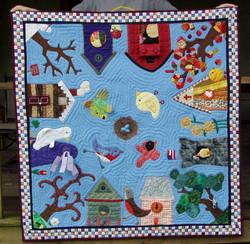 Gracie's Birdhouse Quilt