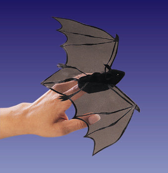 Bat Finger Puppet by Folkmanis