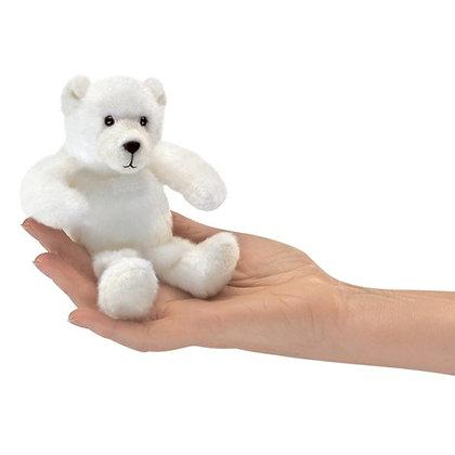 Polar Bear Finger Puppet by Folkmanis