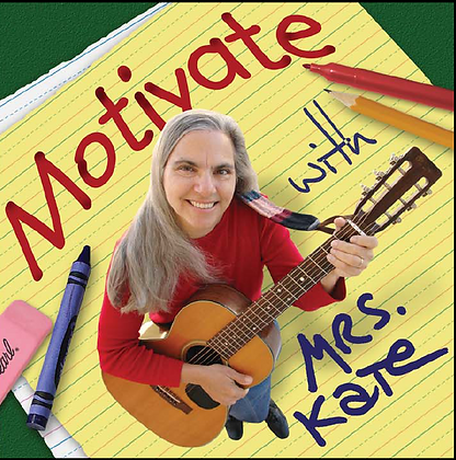 Motivate with Mrs. Kate CD