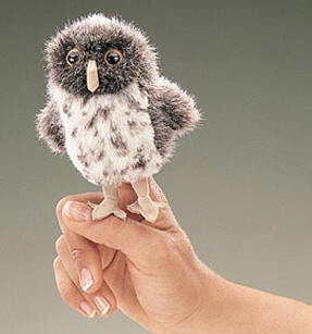 Spotted Owl Finger Puppet by Folkmanis