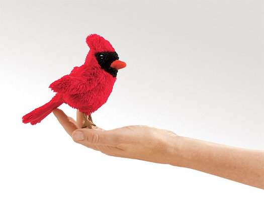 Cardinal Finger Puppet by Folkmanis