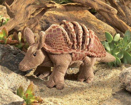 Armadillo Puppet by Folkmanis
