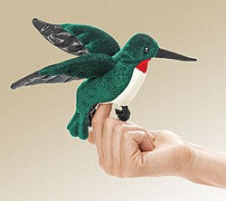 Hummingbird Finger Puppet by Folkmanis