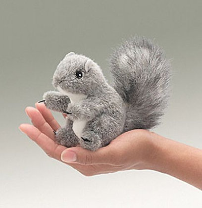 Gray Squirrel Finger Puppet by Folkmanis