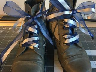 Ribbon Shoelaces