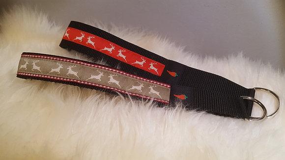 Paprika-Halsband Hirsch, beige oder rot