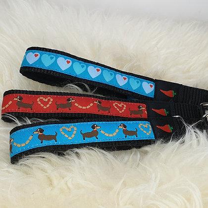 Paprika-Halsband Würschtldackel