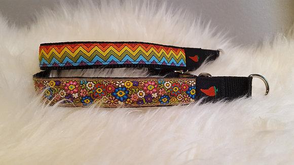 Paprika Halsband Flowerpower