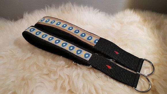 Paprika-Halsband Ranke, blau senf