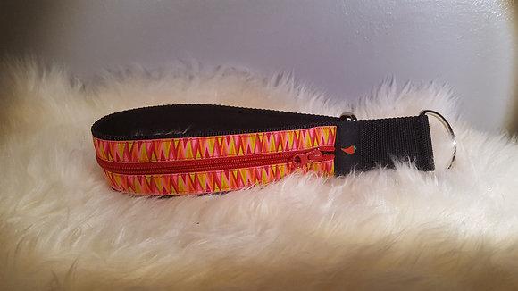 Paprika Zipp-Halsband Zickzack