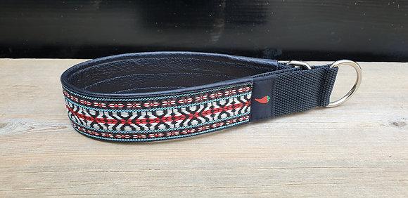 Paprika-Halsband Bogyoke Jeans