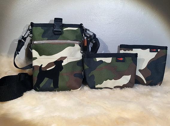 Paprika Slingbag S, Camouflage mit Silhouette