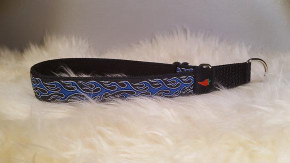 Paprika-Halsband Flamme, blau