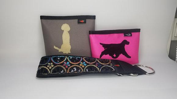 Paprika Goodiebag mit Hundesilhouette