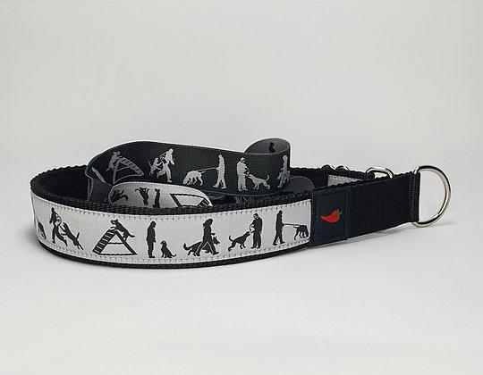 Paprika Halsband Sporthund