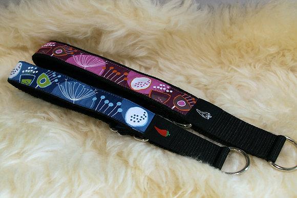 Paprika-Halsband Blumen, beere oder blau
