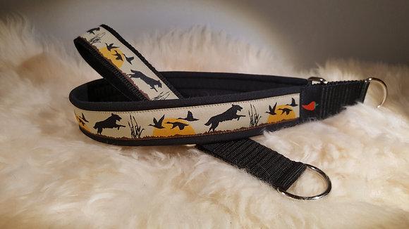 Paprika-Halsband Jagdhund, beige schwarz gelb