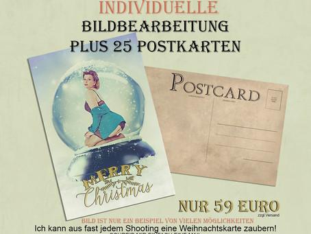 Weihnachtskarten Aktion