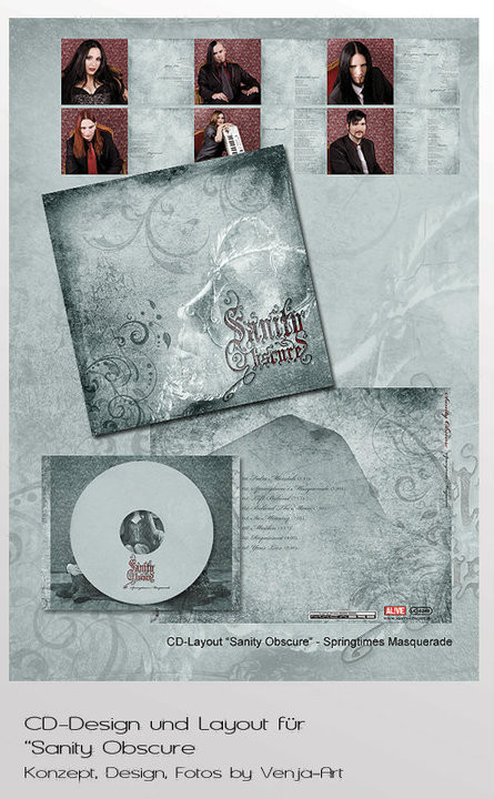 Sanity Obscure | CD Booklet