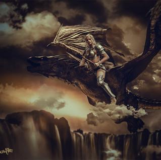 Drachenkriegerin